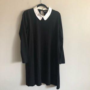 ASOS Peter Pan collar sweater dress